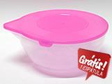 Derretedeira para Chocolate Grande 2L Rosa Ref.157 BWB