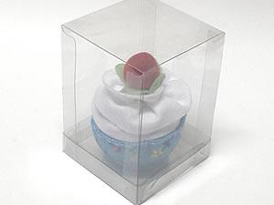 Caixa para 1 Cupcake Padrão Combo-22, Medidas: 8.5 X 8.5 X 12 cm