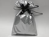 Saco de Presente Liso Prata Fosco 20x30