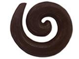 Forma Arabesco Circular 1g Ref.9321 BWB, Medidas: 24 x 18.5 x 0.25 cm