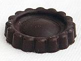 Forma com Silicone Biscoito Recheado Liso 15g Ref.873 BWB