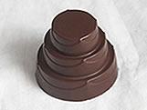 Forma com Silicone Bolo Detalhado Pequeno 10g Ref.851 BWB