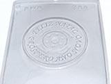 Forma CD Final de Ano 75g Ref.723 BWB, Medidas: 24 x 18.5 x 0.5 cm