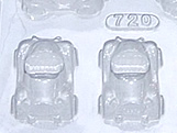 Forma Carrinho Fusca 28g Ref.720 BWB