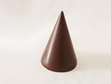 Forma com Silicone Cone Pequeno 8g Ref.860 BWB, Medidas: 24 x 18.5 x 4 cm