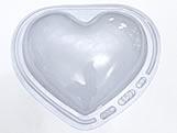 Forma Coração 1kg Ref.196 BWB