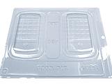 Forma com Silicone Iphone 30g Ref.1423 BWB, Medidas: 24 x 18.5 x 1 cm