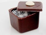 Forma com Silicone Mini Caixa Quadrada 25g Ref.856 BWB