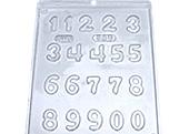 Forma Números 5g Ref.380 BWB, Medidas: 24 x 18.5 x 0.3 cm