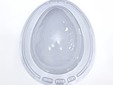 Forma com Silicone Ovo de Páscoa 1K Ref.53 BWB, Medidas: 24 x 18.5 x 7.5 cm