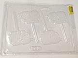Forma Pirulito Cordeiro/Ovelha 20g Ref.397 BWB