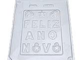 Forma Placa Feliz Ano Novo 143g Ref.188 BWB