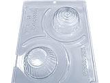 Forma com Silicone Porta Jóias Cupcake 60g Ref.26 BWB