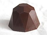 Forma com Silicone Trufa Diamante Grande 120g Ref.1054 BWB