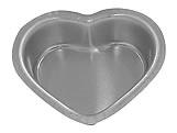 Forma de Aluminio Pão de Mel Coração nº2 Ref.122 BWB, Medidas: 6 x 5 x 2 cm