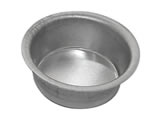 Forma de Aluminio P�o de Mel Redondo n�0 Ref.9004 BWB, Medidas: 3.8 x 3.8 x 1.6 cm