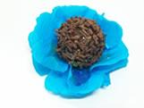 Forminha de Crepom J-16 Lisa Azul Turquesa / Tiffany, Medidas: 1.5 x 1.5 cm