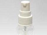 Frasco Cilindrico 60ml com Valvula Dosadora Branca