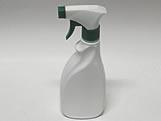 Frasco para Limpeza Branco com Valvula Gatilho Verde