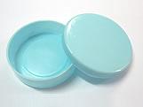 Latinha Azul Claro, Medidas: 5 X 5 X 1 cm