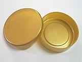 Latinha Ouro, Medidas: 5 X 5 X 1 cm
