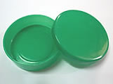 Latinha Verde Escuro, Medidas: 5 X 5 X 1 cm