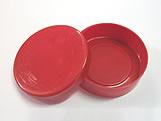 Latinha Vermelha, Medidas: 5 X 5 X 1 cm