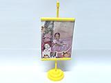 Mini Banner Amarelo, Medidas: 10 x 15 cm