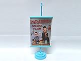 Mini Banner Azul Claro, Medidas: 10 x 15 cm