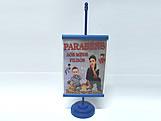 Mini Banner Azul Escuro, Medidas: 10 x 15 cm