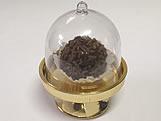 Mini Cúpula Ouro, Medidas: 4.5 x 4.5 x 4.5 cm