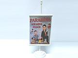 Mini Banner Branco, Medidas: 10 x 15 cm