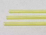 Canudo Palito para Pirulito Pequeno Amarelo nº09 Ref.112 BWB