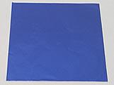 Papel Chumbo Aluminio 10x10cm Azul Escuro