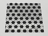 Papel Chumbo Aluminio 10x10cm Bola Futebol, Medidas: 10 X 10 X 1 cm