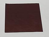 Papel Chumbo Aluminio 10x10cm Marrom, Medidas: 10 X 10 X 1 cm