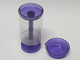 Push PopCake Roxo Ref.695 BWB, Medidas: 4.5 X 4.5 X 7 cm