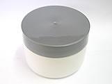 Pote Redondo S9 250g Branco/Prata, Medidas: 9 X 9 X 6.5 cm