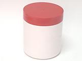 Pote Redondo S9 500g Branco/Vermelho