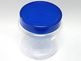 Pote Gel 240ml com tampa Azul Escuro