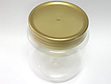 Pote Gel 240ml com tampa Ouro