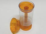 Push PopCake Laranja Ref.694 BWB, Medidas: 4.5 X 4.5 X 7 cm