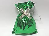 Saco de Presente Liso Verde 20x30 Metalizado