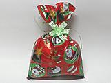 Saco de Presente Papai Noel 20x30, Medidas: 20 x 30 cm
