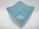 Cachepo Liso Azul Claro, Medidas: 9 X 7 X 9.5 cm