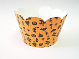 Mini Wrapper Halloween Laranja