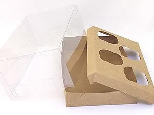 Caixa para 4 Mini Cupcakes Combo-48
