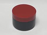 Pote Redondo S9 250g Preto/Vermelho