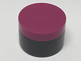 Pote Redondo S9 250g Preto/Pink