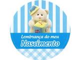 Adesivo Nascimento Lembrança Ursinho Ref-67AC